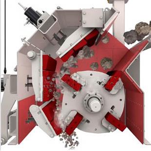 云南反击式破碎机技术工程师建立的碎石机3D模型