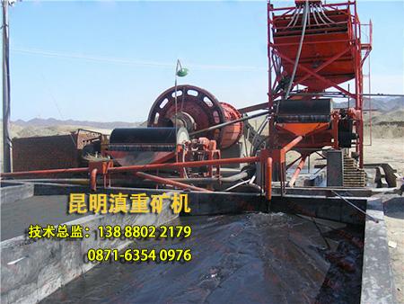 云南昆明滇重矿机生产的半逆流式磁选机畅销东南亚