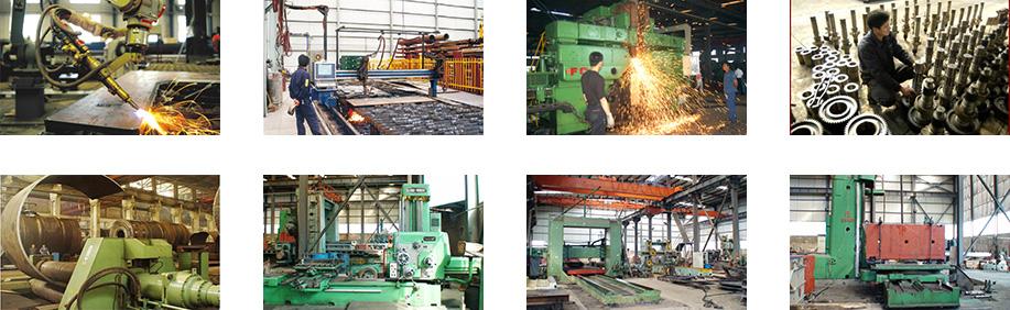 昆明滇重矿机的立式制砂机生产基地内部实拍图