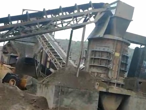 客户案例之云南红河州150t/h鹅卵石制砂项目