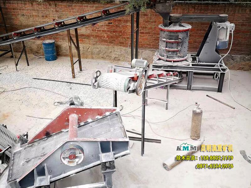 本立轴制砂机案例全景图
